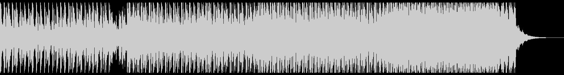 ダンス(中)の未再生の波形