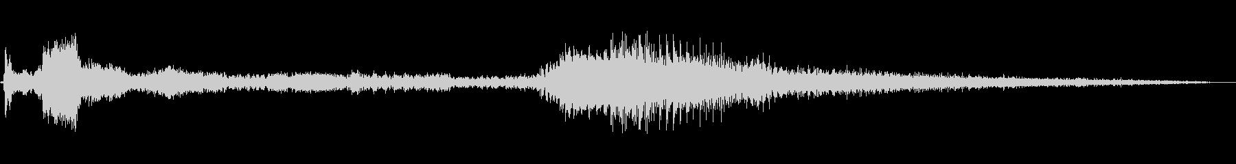 1985シェビーカマロ:スタート、...の未再生の波形