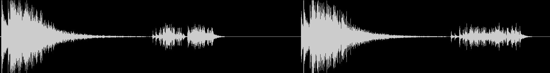 21ガンサリュート:シングルショッ...の未再生の波形