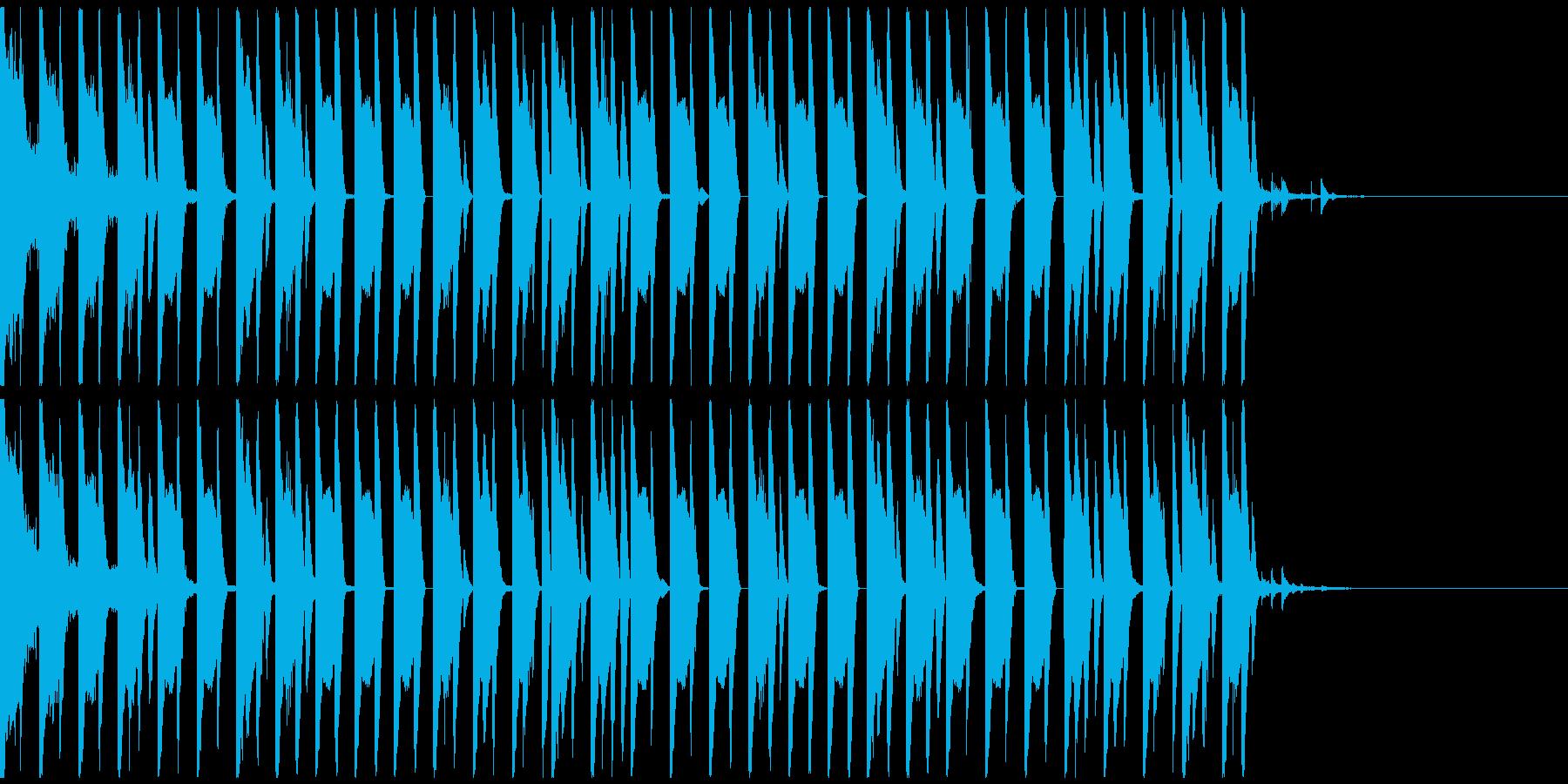 オシャレ・戦闘・スリリングEDM、②の再生済みの波形