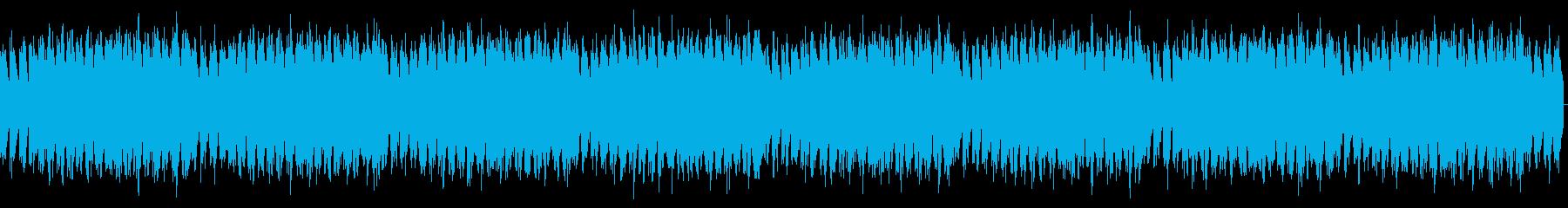 エレクトリックピアノ、おしゃれの再生済みの波形