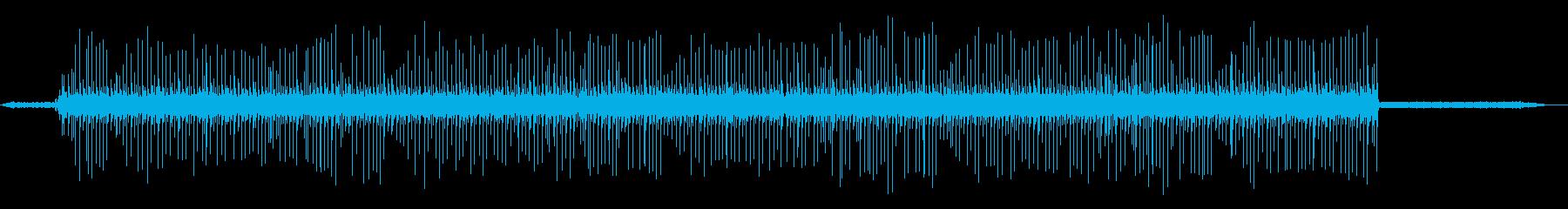 テレタイプ&テレグラフマシンを実行...の再生済みの波形