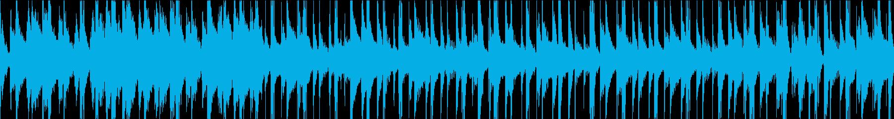 シンプルなメロディーと優しい感触の...の再生済みの波形
