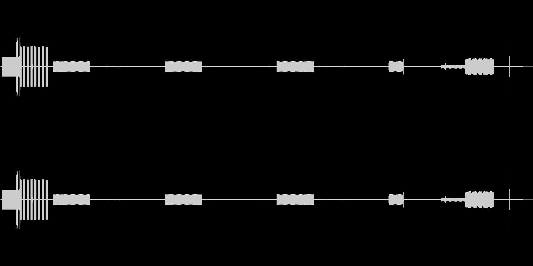 56kダイヤルアップモデムがインタ...の未再生の波形