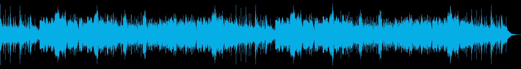 ケルト風エスニックな切ないメロディの再生済みの波形