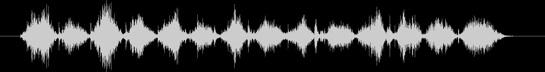 クロスカットハンドソー:2 X 4...の未再生の波形