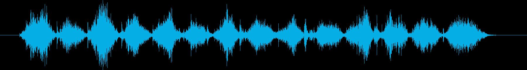 クロスカットハンドソー:2 X 4...の再生済みの波形