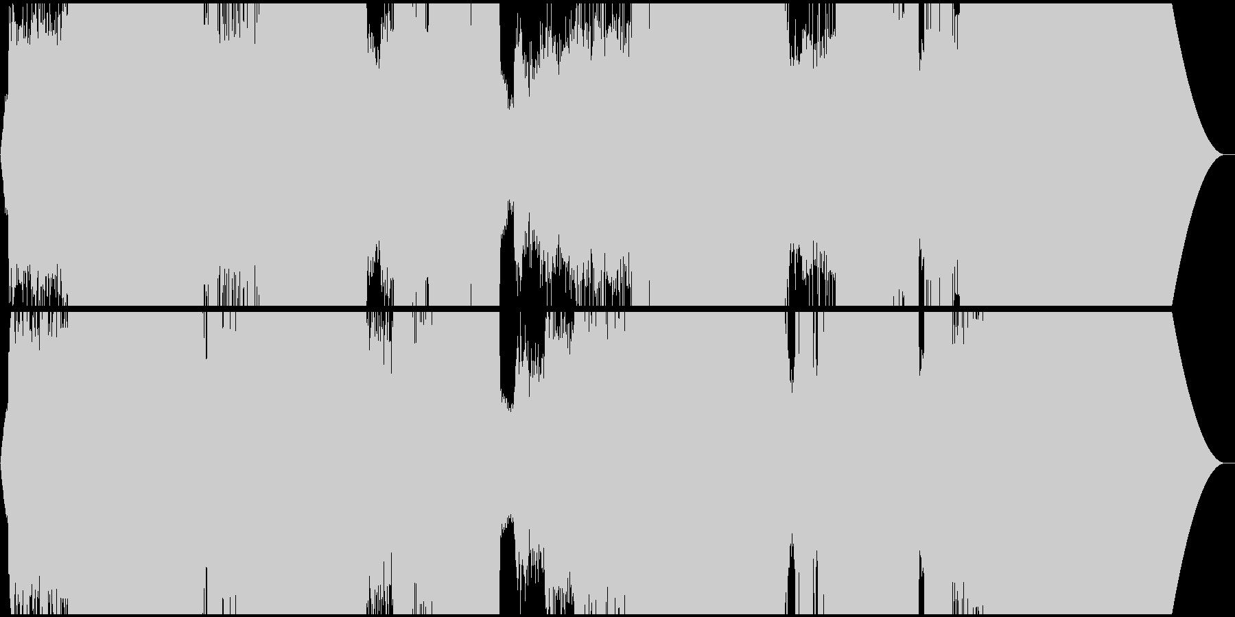 壮大なエレクトロ・シンフォ・プログレの未再生の波形