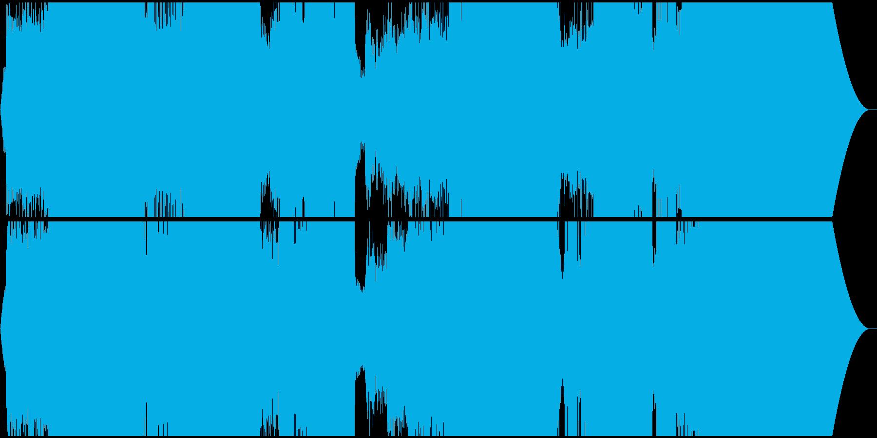 壮大なエレクトロ・シンフォ・プログレの再生済みの波形