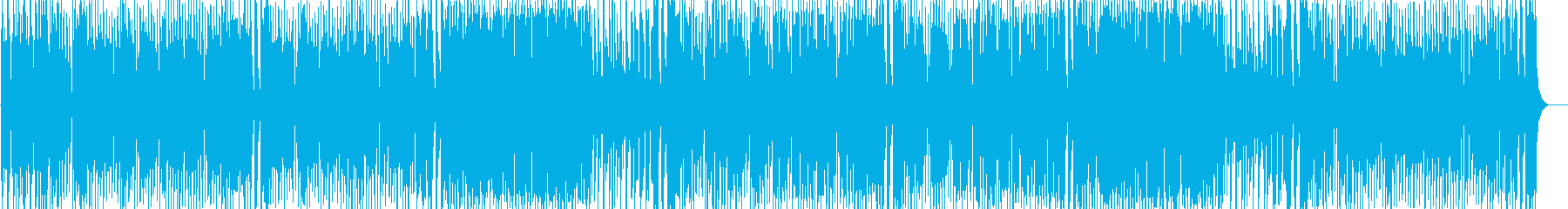 Rhythmic and bright image pops's reproduced waveform