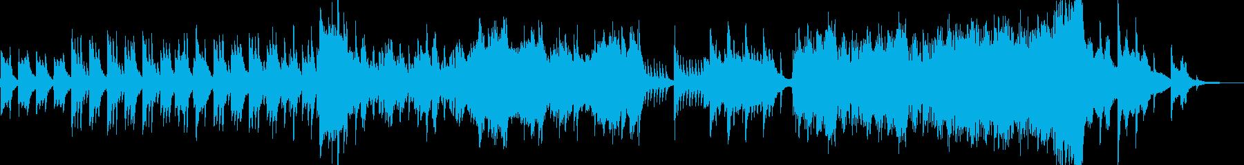 ハープとピアノによる壮大で幻想的なBGMの再生済みの波形