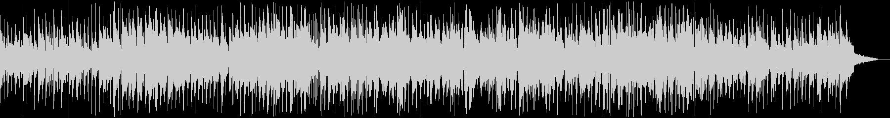 ほのぼのと落ち着いて演奏するバラードの未再生の波形