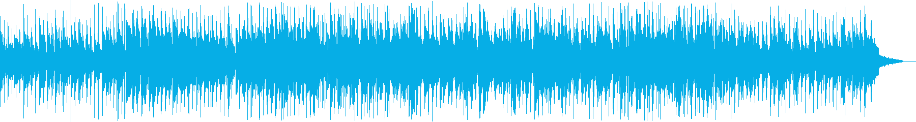 ほのぼのと落ち着いて演奏するバラードの再生済みの波形