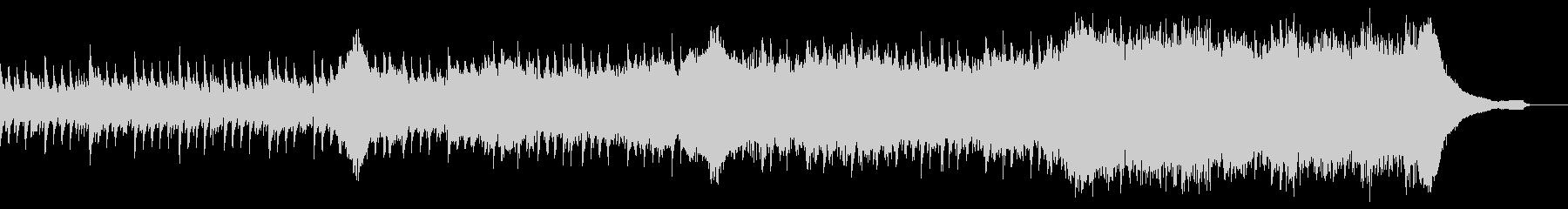 企業VP映像、105オーケストラ、爽快bの未再生の波形