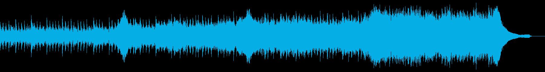 企業VP映像、105オーケストラ、爽快bの再生済みの波形