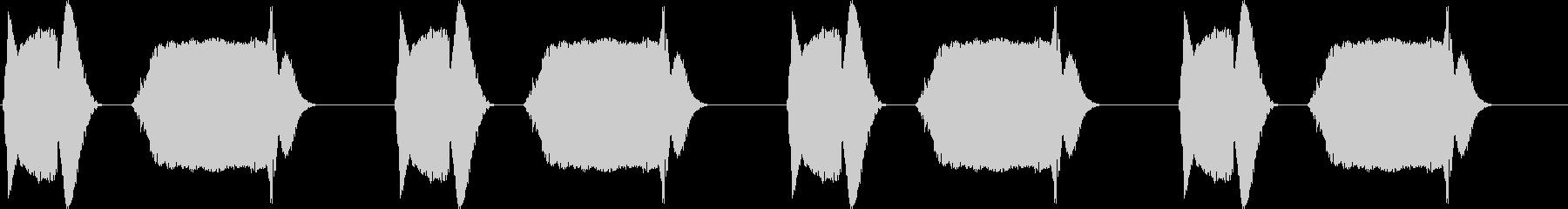 ブッブーブッブーブッブー(バイブ音)の未再生の波形