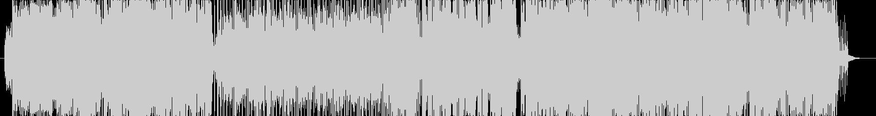 女性ボーカルポップス(4つ打ち系)の未再生の波形