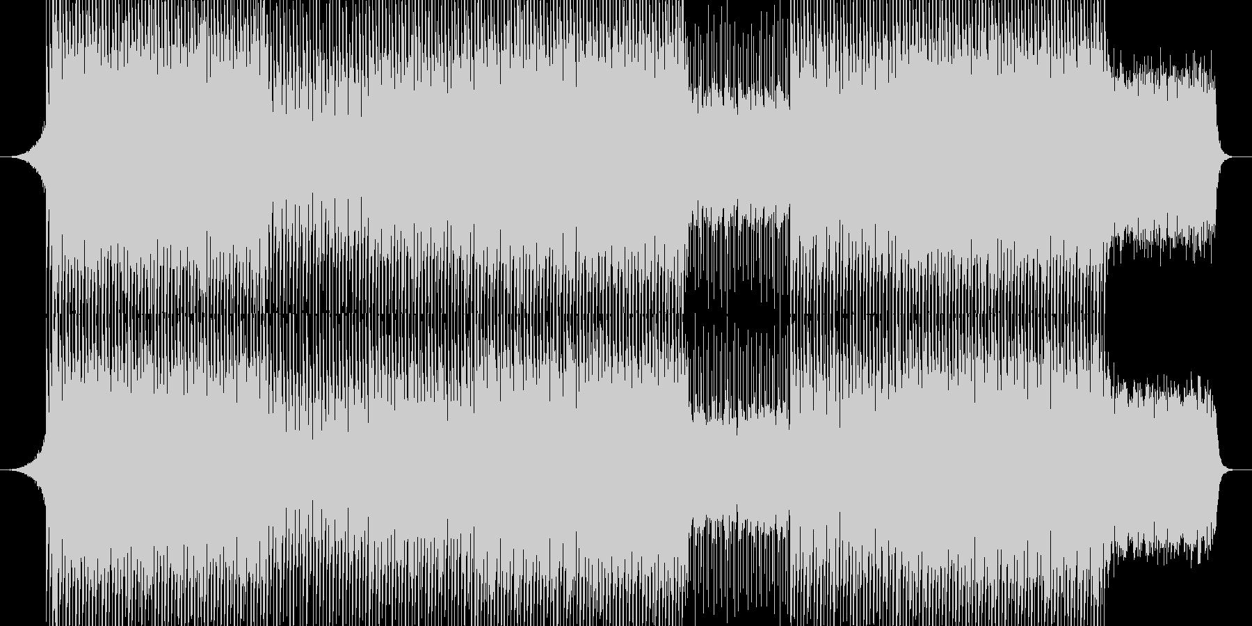 EDM明るいクラブ系キラキラシンセ-04の未再生の波形
