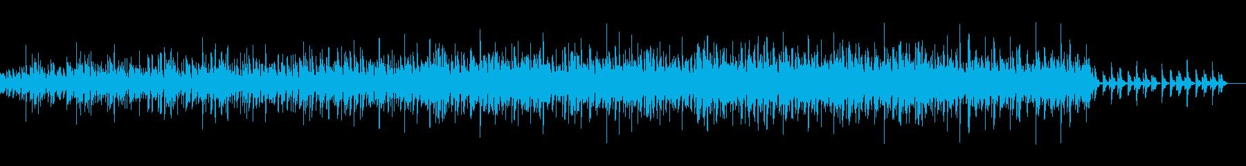 切ないチルアウトオルゴール_ビートありの再生済みの波形