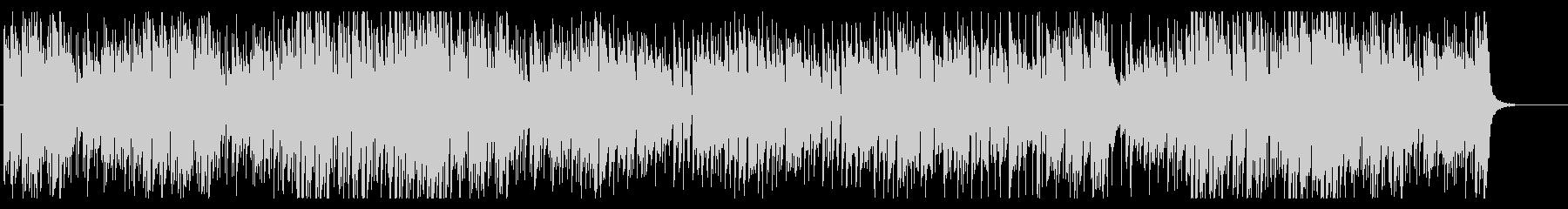 ピアノとオルガンでハイテンポなラグタイムの未再生の波形