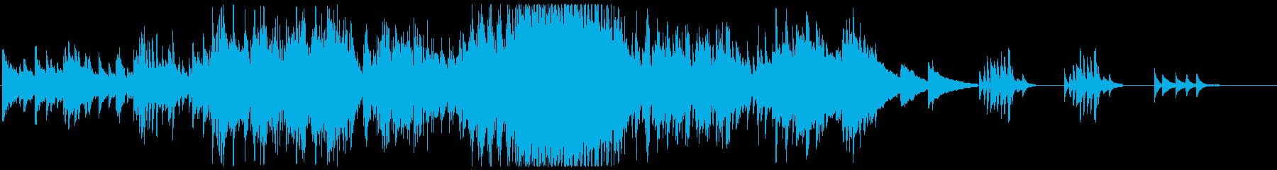 ベートーヴェンソナタ田園第1楽章展開部の再生済みの波形