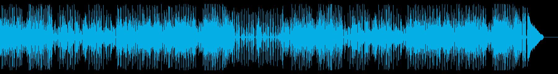 和風でほのぼの、ミディアムテンポの再生済みの波形