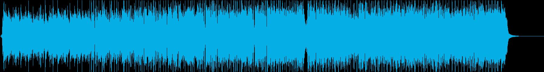 生演奏アコギが主旋律の爽やかPOPSの再生済みの波形