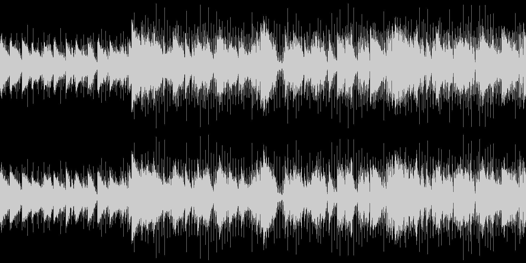 リラックスできる映像・おしゃれなジャズの未再生の波形