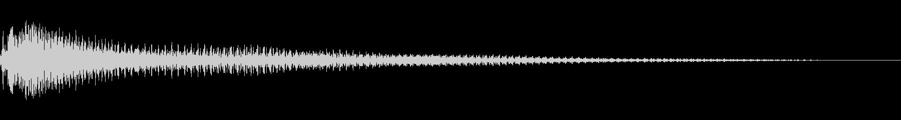 オーケストラサスペンスアクセント7の未再生の波形