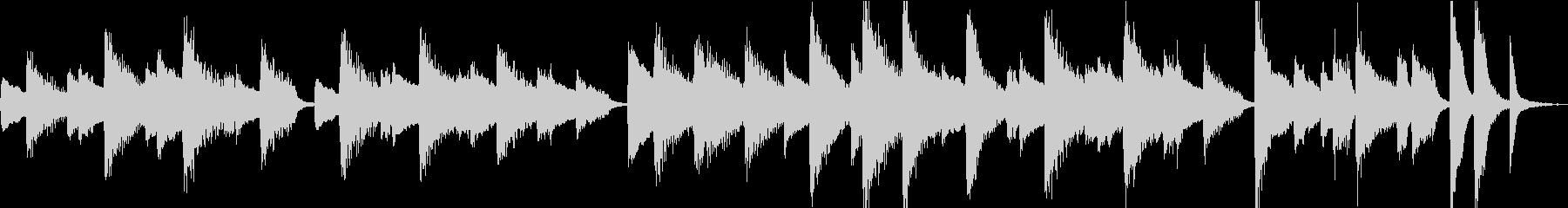 【しっとり系】30秒ピアノソロ【ループ】の未再生の波形