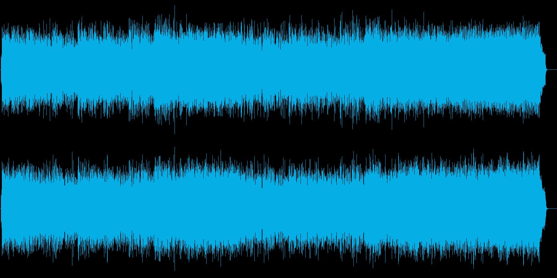 切なくも爽やかなポップス(フルサイズ)の再生済みの波形