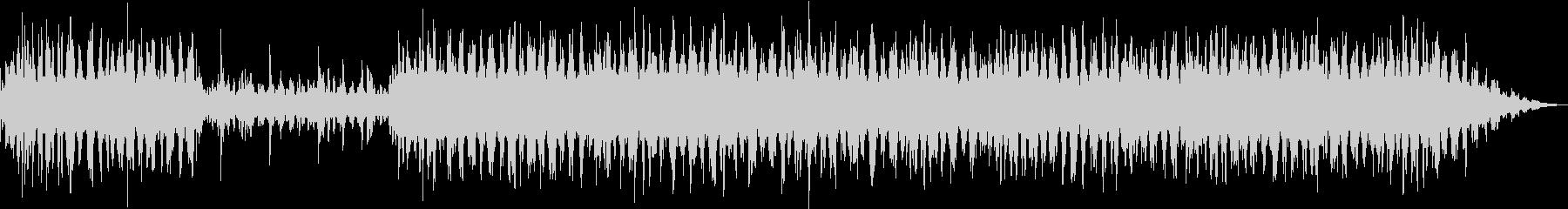アンビエントなソルフェジオ周波数音楽の未再生の波形