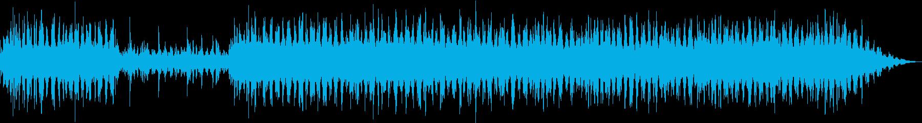 アンビエントなソルフェジオ周波数音楽の再生済みの波形