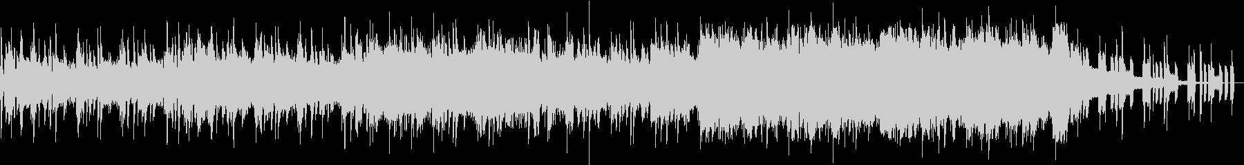 EDMとギターロックが融合したシングルの未再生の波形