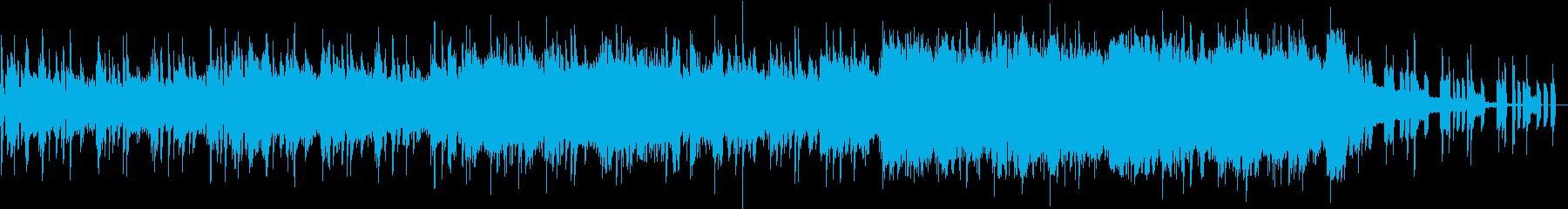 EDMとギターロックが融合したシングルの再生済みの波形
