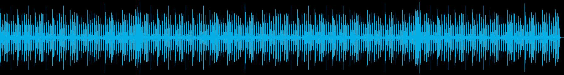 シンキングタイムに流れるBGMの再生済みの波形