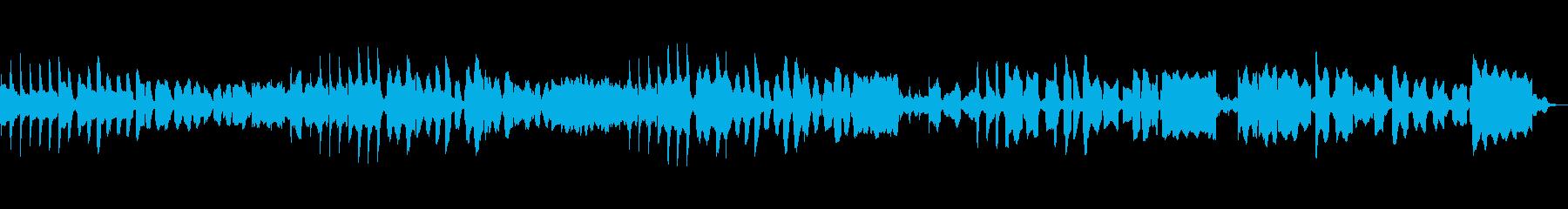 リコーダー、ビブラフォン使用の町曲の再生済みの波形