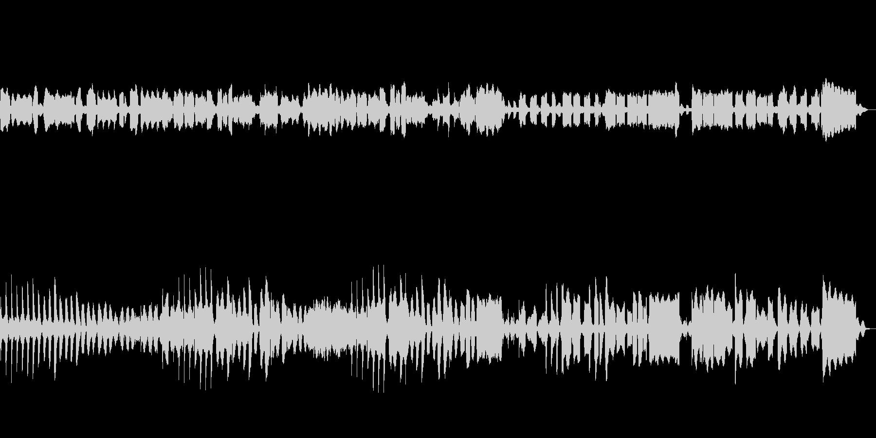 リコーダー、ビブラフォン使用の町曲の未再生の波形