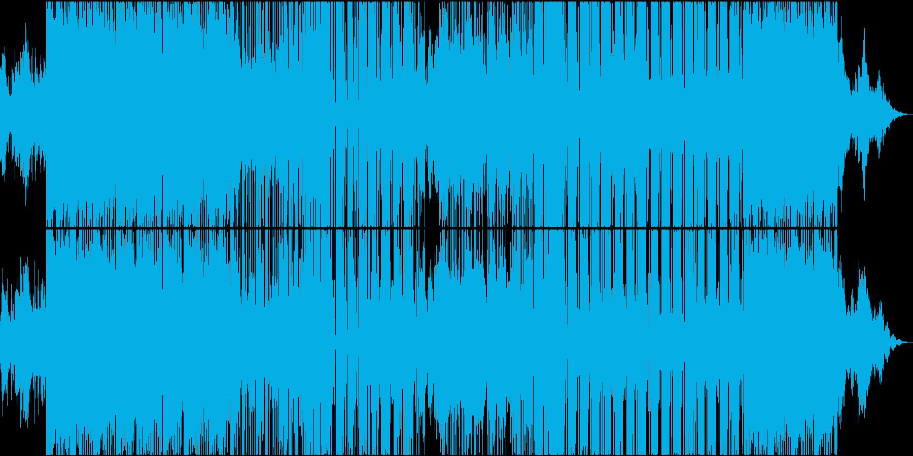 不規則で不思議なHybrid Trapの再生済みの波形