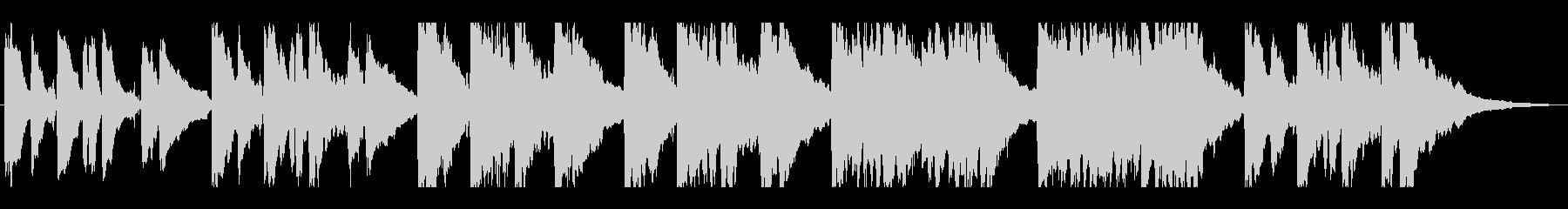 T.V.-現代研究所アメリカーナ西...の未再生の波形