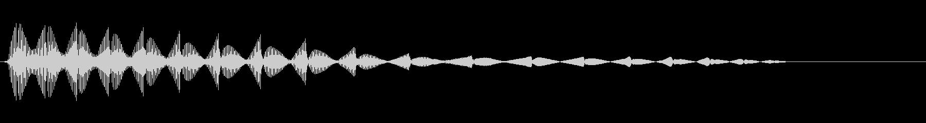 さまざまなインターフェイス画面のス...の未再生の波形