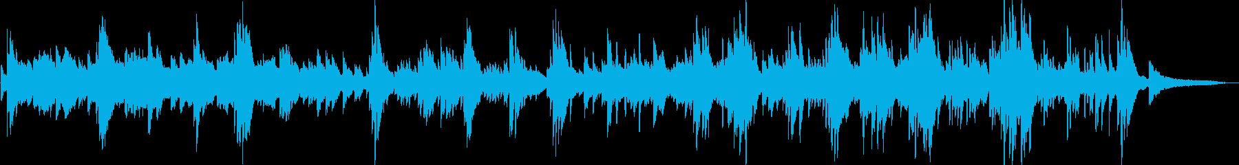 哀愁・幻想的 アンビエントなピアノソロの再生済みの波形