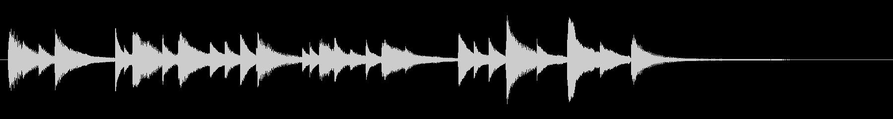 ジングル - バイバイ。の未再生の波形