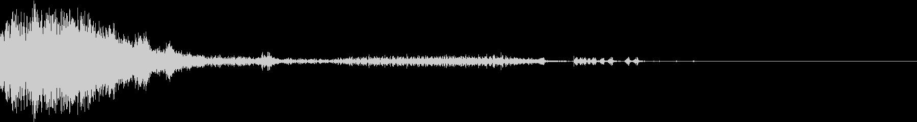 衝撃 金属音 恐怖 震撼 ホラー 37の未再生の波形