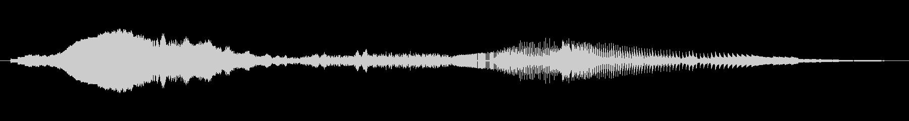 ノイズ、ライズ、フォール、シンセ、...の未再生の波形