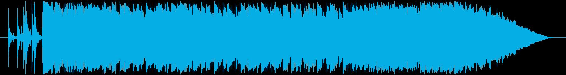壮大クライマックス感 疾走感ポップロックの再生済みの波形