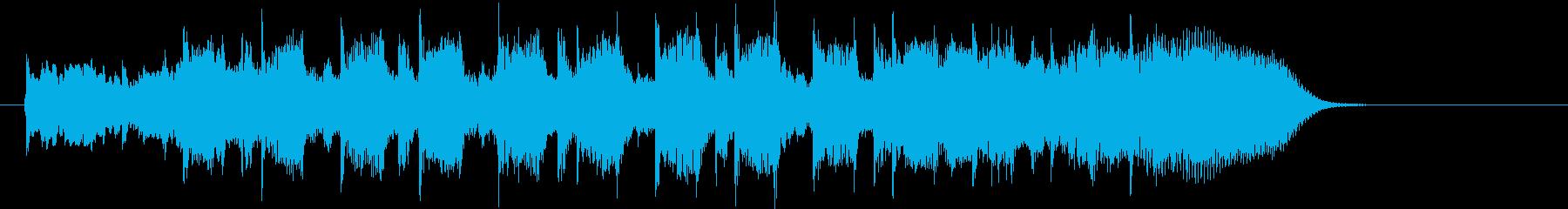 懐かしく優しいフォークの再生済みの波形