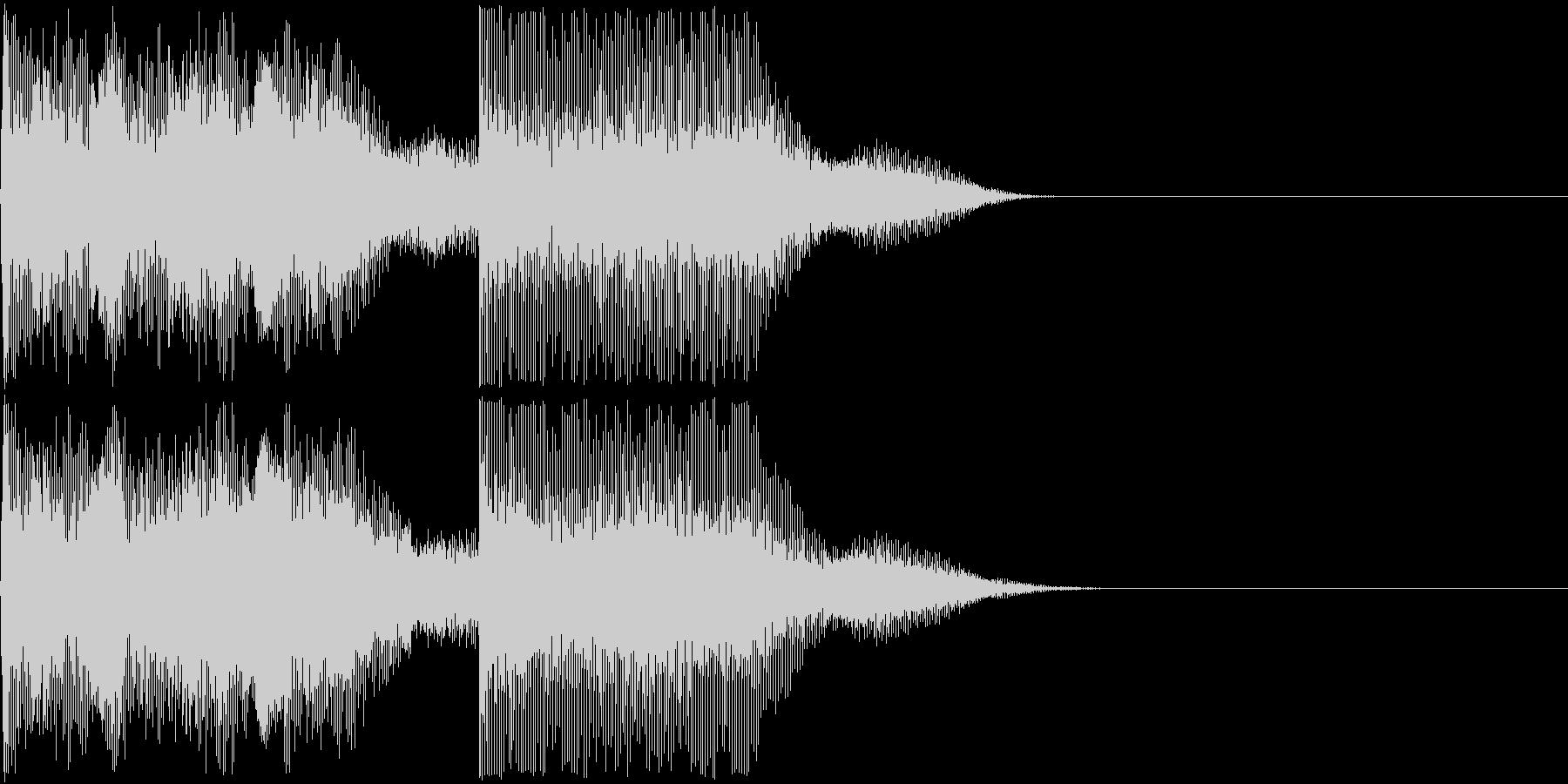 AI メカ/ロボ/マシン動作音 20 短の未再生の波形