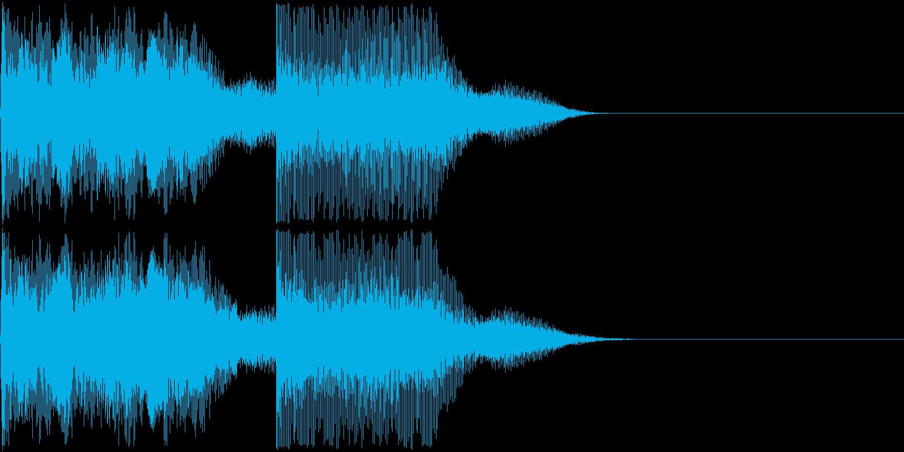AI メカ/ロボ/マシン動作音 20 短の再生済みの波形