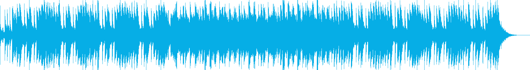 間抜けかわいいBGMの再生済みの波形